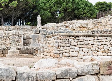 ruïnes d'empúris empordà